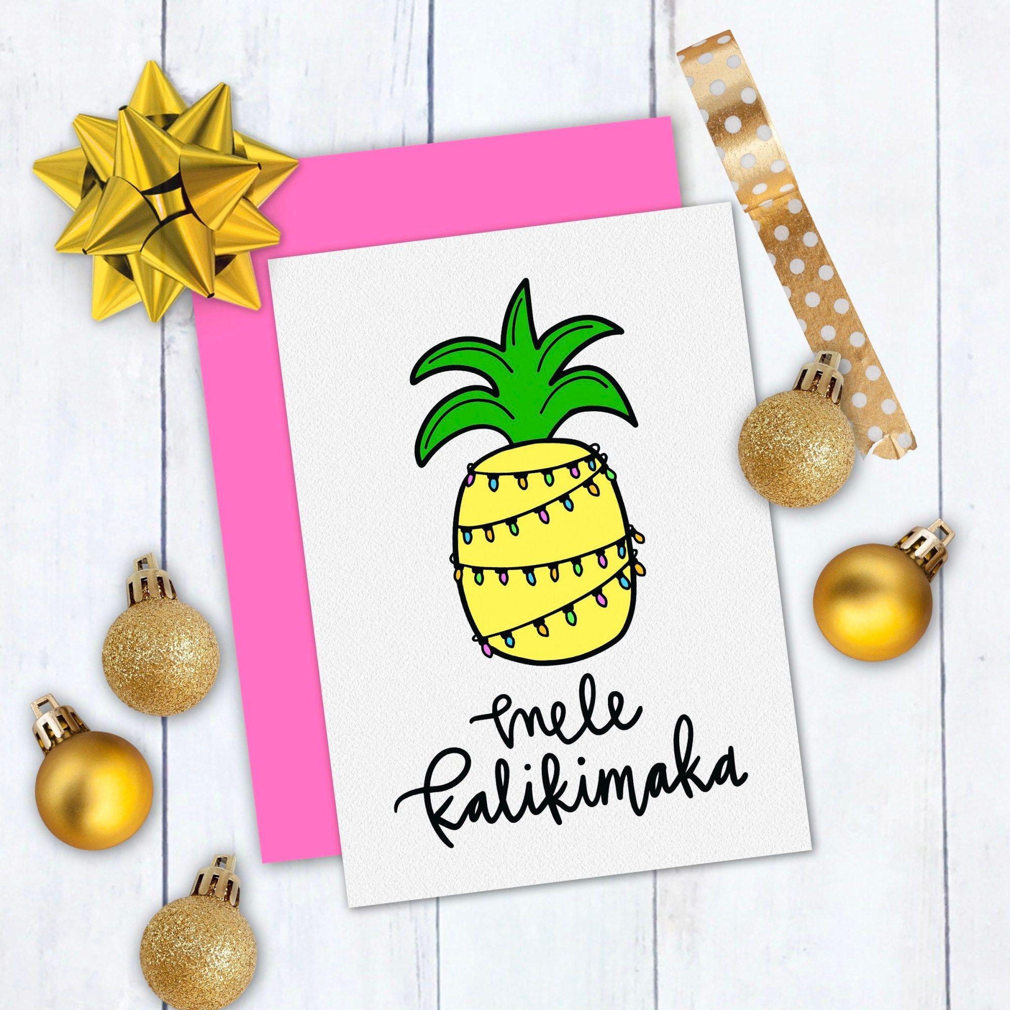 Mele Kalikimaka Free Tropical Christmas SVG Christmas