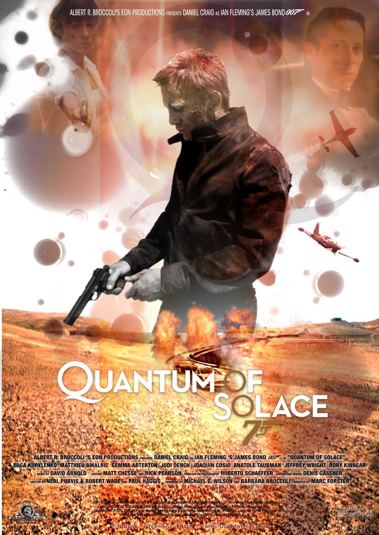 Quantum Of Solace Poster 15 James Bond Movie Posters James