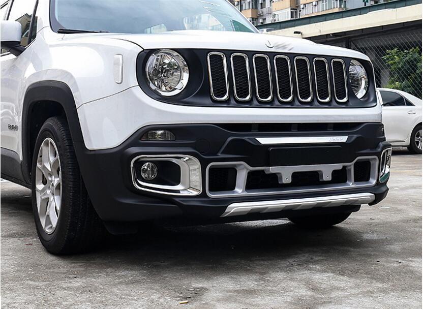 For Jeep Renegade 2016 2017 Plastica Anteriore E Posteriore