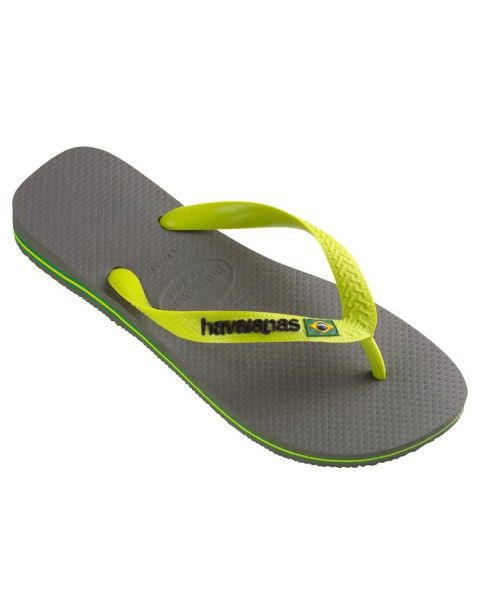 d6d4e9f5da73 Shoes Sandals · This is a masterpiece to give the best comfort! Havaianas  BRAZIL LOGO Grey Lime