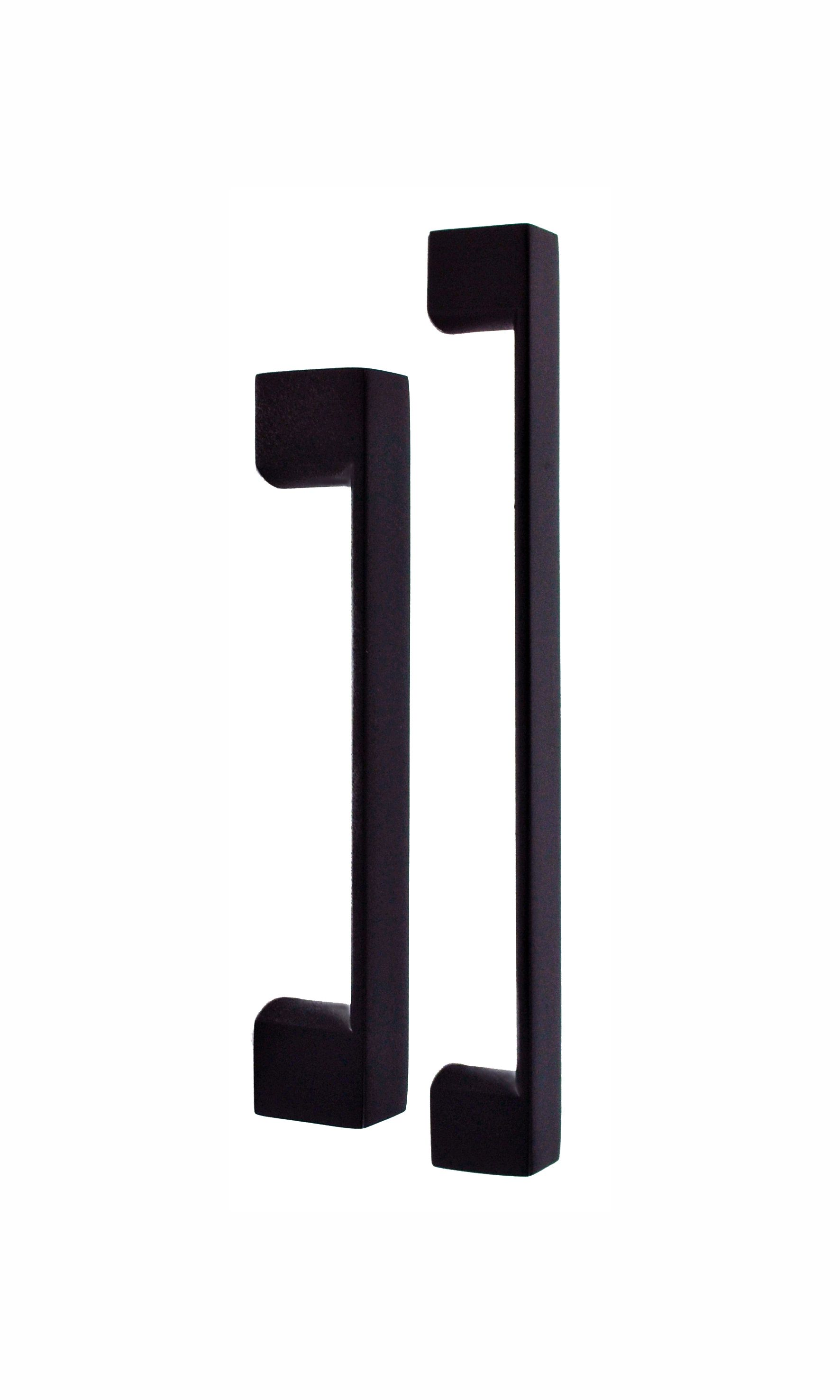 Nidus SQ1 pulls matte black Kitchen door