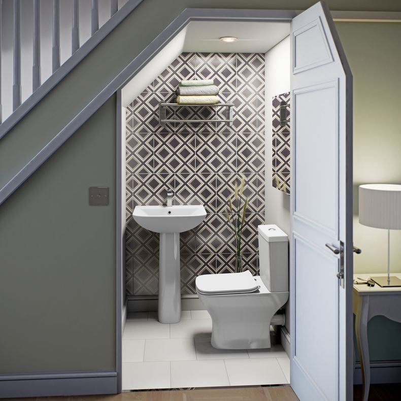 Your bathroom layout - finding room for everything | Scala, Bagni e ...