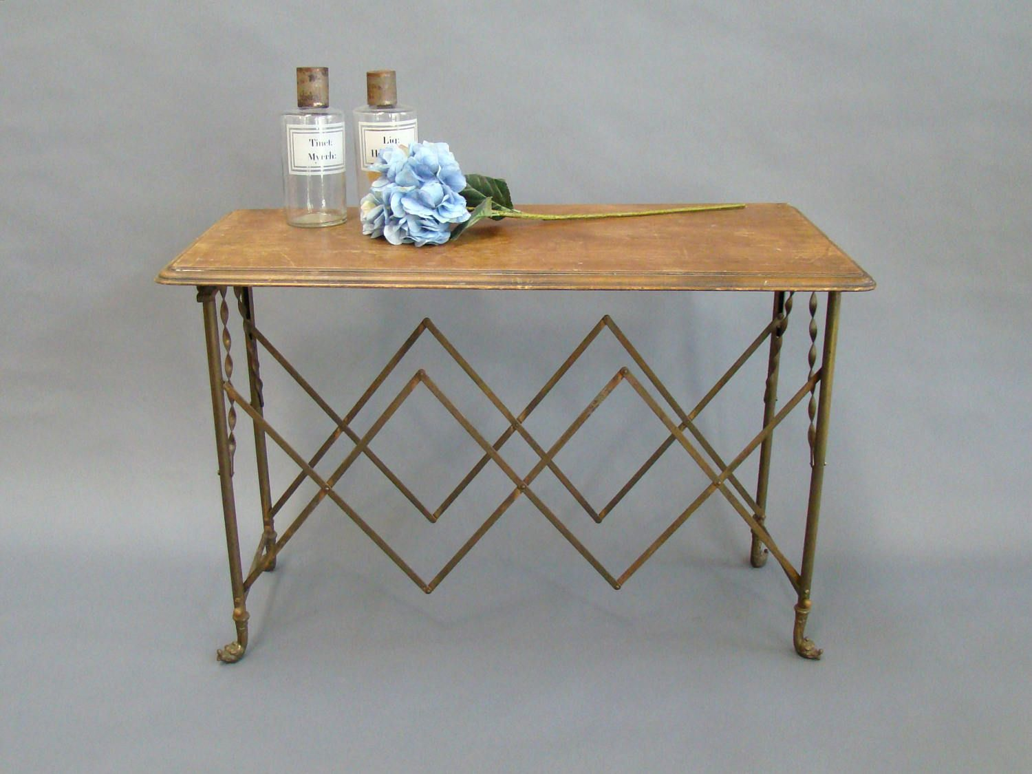 Coffin Stand Casket Stand Table base Folding Table legs Macbre