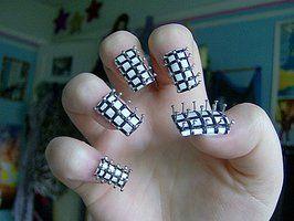 Kayleighoc S Deviantart Gallery Crazy Nail Designs Crazy Nail Art Crazy Nails