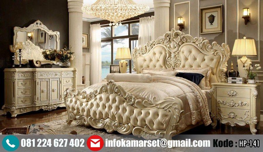 Jual Set R Tidur Mewah Klasik Ukir King Hp 141 By Furniture Jepara