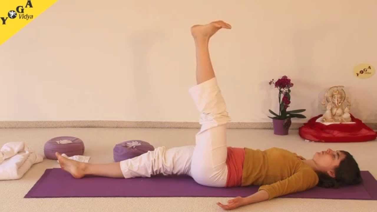 Anfänger-Yogastunde für Zuhause