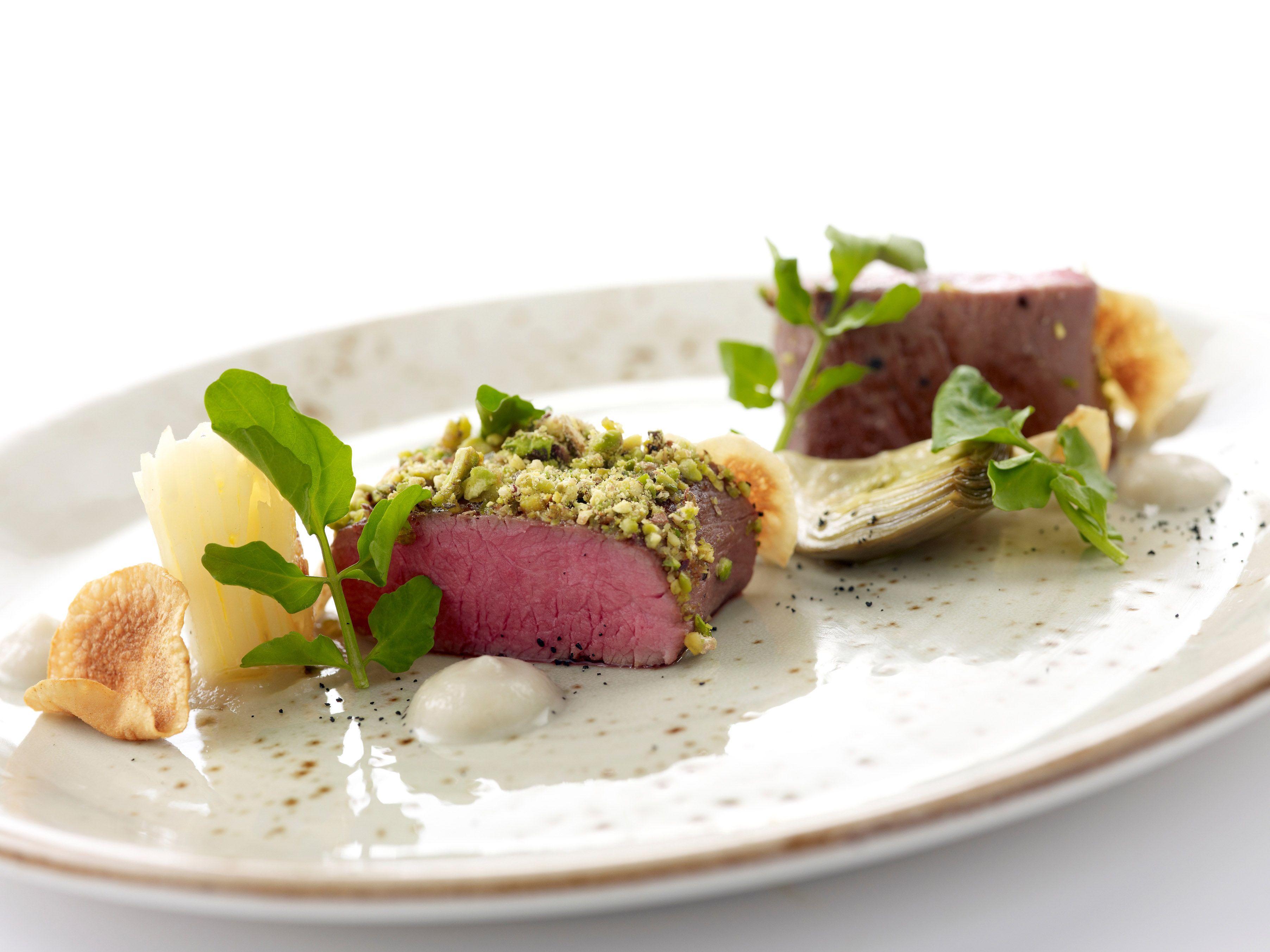 Buona Terra: Exquisite Italian Fine-Dining | Yummy Bites | Pinterest ... for Lamb Loin Fine Dining  146hul