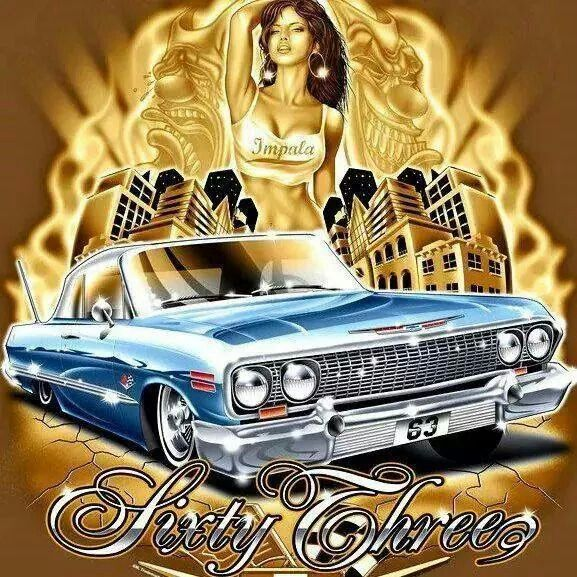 Chicano Art Lowrider Art Chicano Art Tattoos Chicano