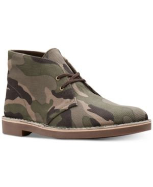 Clarks Men's Limited Edition Camo Bushacre, Created for