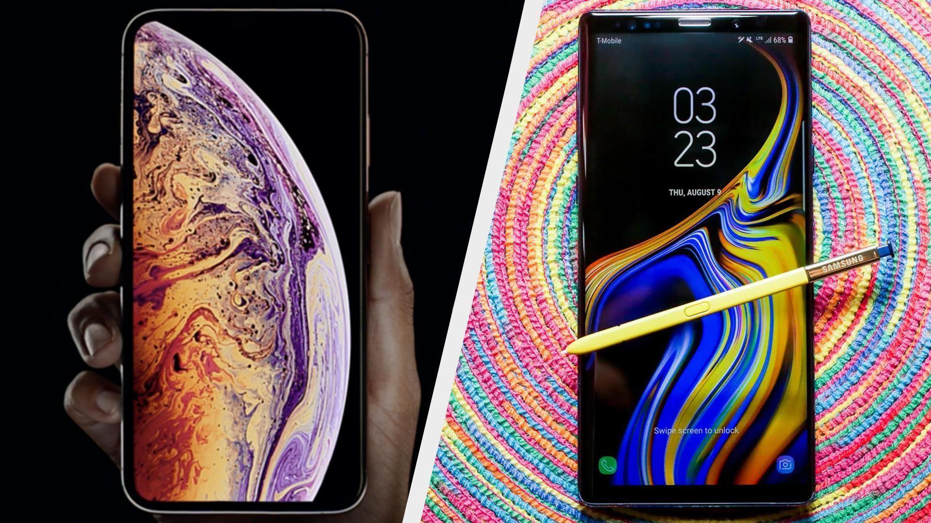 Apple In Yeni Amiral Gemisi Akilli Telefon Modeli Iphone Xs Max Cok Ciddi Sistem Degisiklikleriyle Beraber Gelmis Durumda Ac Galaxy Note 9 Galaxy Note Note 9