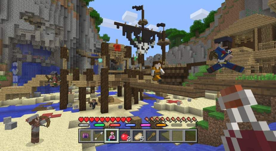 Los Jugadores De Minecraft Podrán Luchar Unos Contra Otros Multijugador Minecraft Juegos Multijugador
