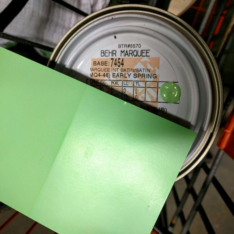behr marquee early spring paint color from home depot on home depot behr paint id=52656