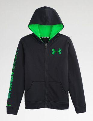 b70c38333d5b Boys  UA Storm Armour® Fleece MagZip™ Hoodie  underarmour