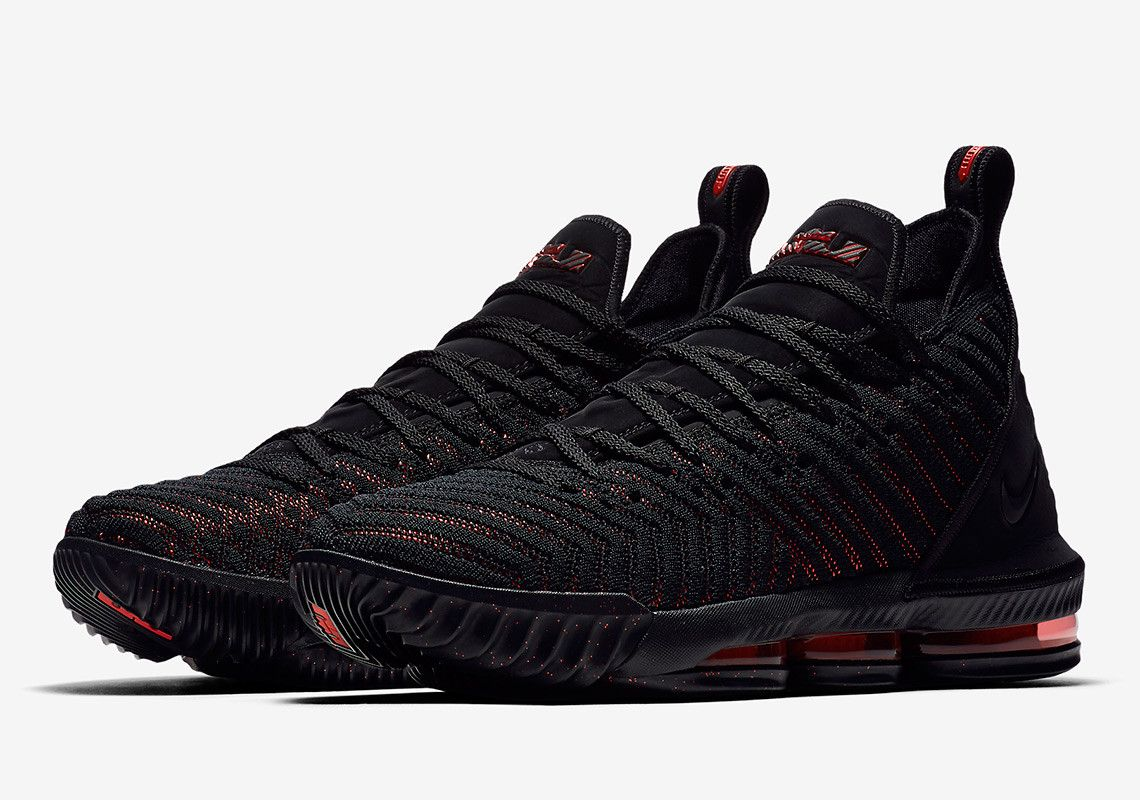 e1b9f3a90e06 The Red Eyes On The Nike LeBron 16 Fresh Bred Inspired By LeBrons Sinister  Staredown