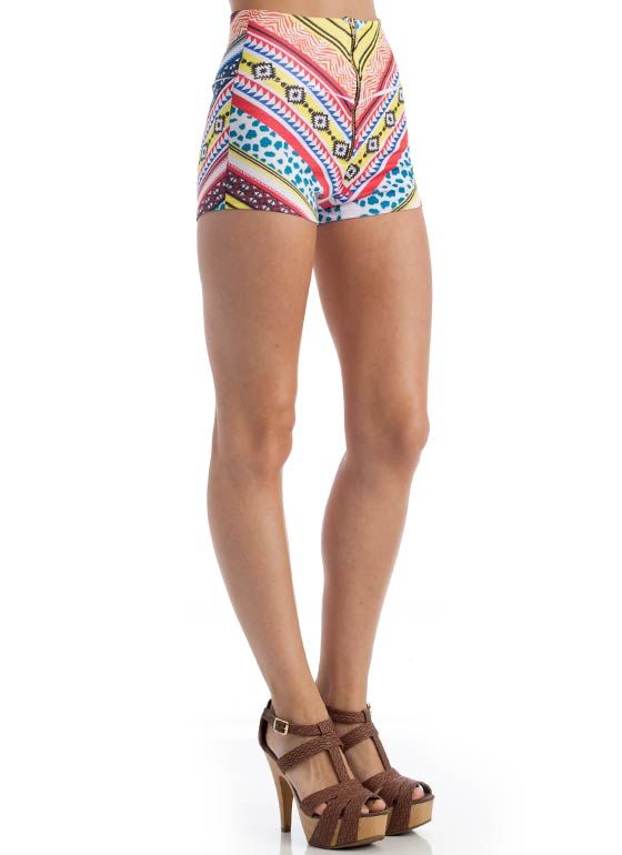tribal print shorts $17.30 - <3
