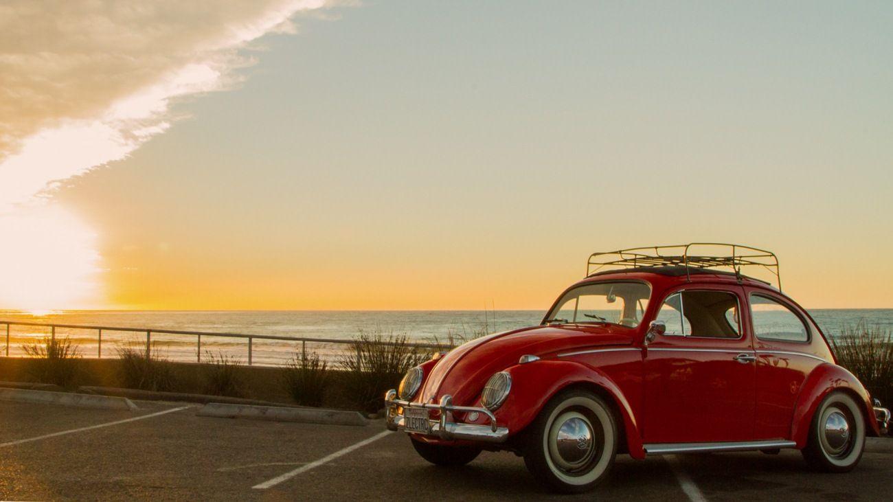 Classic Red Vw Beetle Wallpaper Volkswagen Pinterest Vw