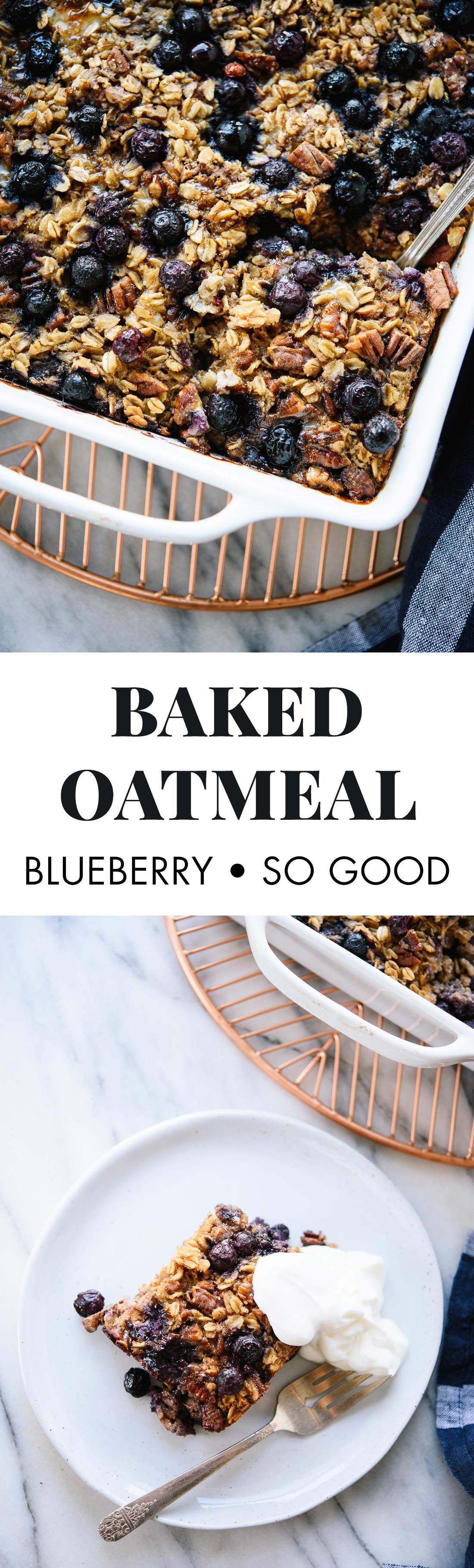 Baked Oatmeal Recipe With Blueberries Cookie And Kate Recipe Blueberry Recipes Recipes Oatmeal Recipes