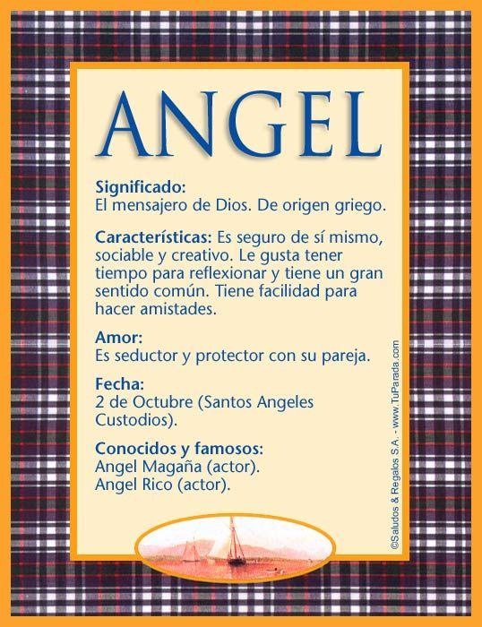 Angel Imagen De Angel Nombres Significado