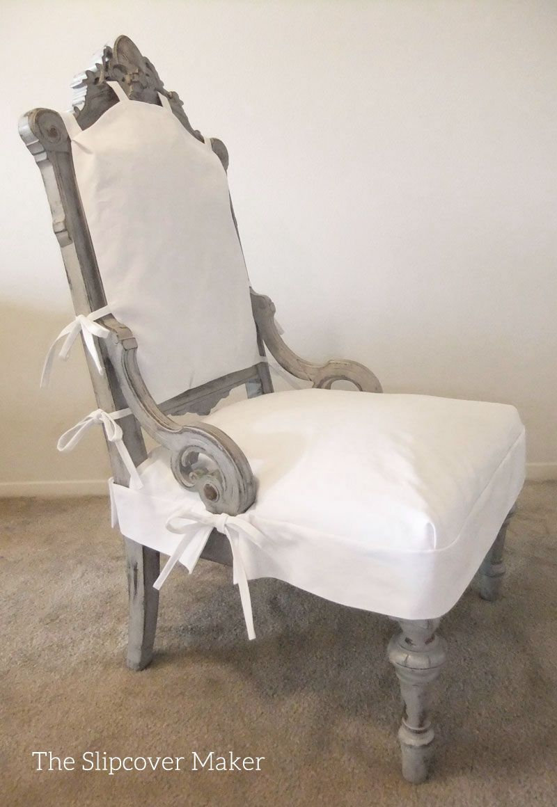 Apron Style Slipcover For Antique Chair Slipcovers For Chairs Dining Room Chair Slipcovers Seat Covers For Chairs