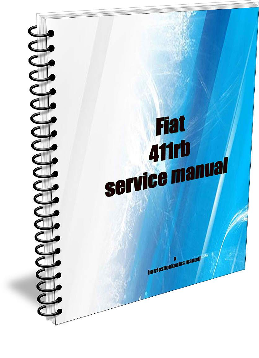 The manual for the Fiat 411rb to download