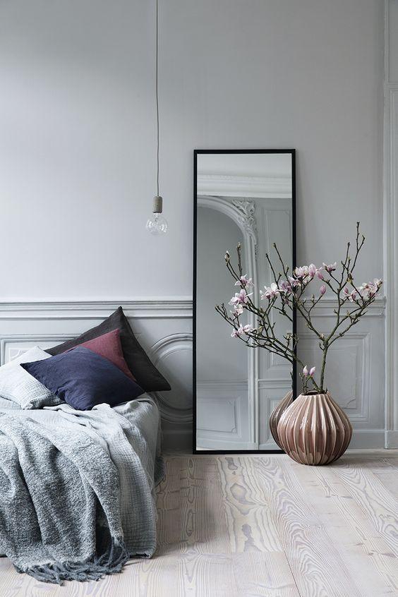 Grote spiegel in huis | Pinterest | Schlafzimmer, Schlafzimmer deko ...