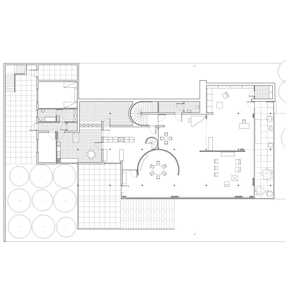 ajrosalesdesign mies van der rohe tugendhat house main level ajrosalesdesign mies van der rohe tugendhat house main level floor plan drafted by
