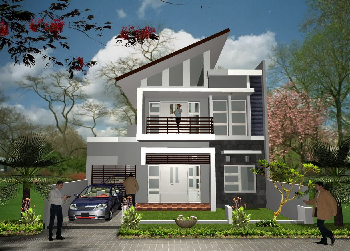 New Architecture Minimalist 2nd Floor House Designs