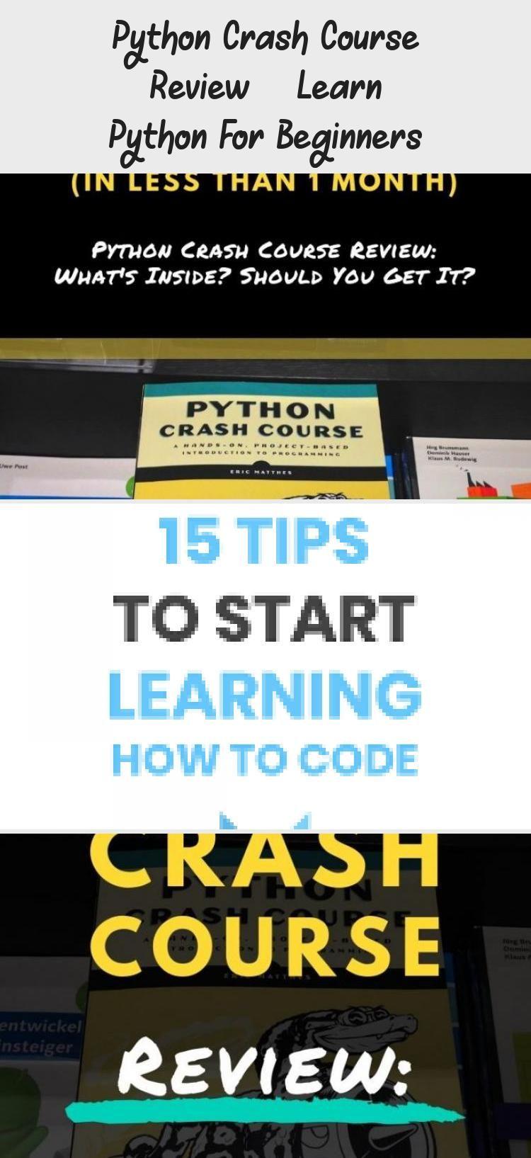 Python Crash Course Review Learn Python For Beginners Technology Crash Course Course Review Learn Web Development