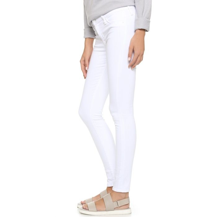 Hudson Nico Skinny Jeans in White | The o'jays, Summer and Style