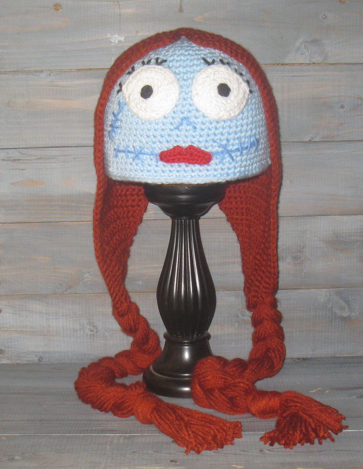d05905ac337 Adult Sally Nightmare Before Christmas crochet hat