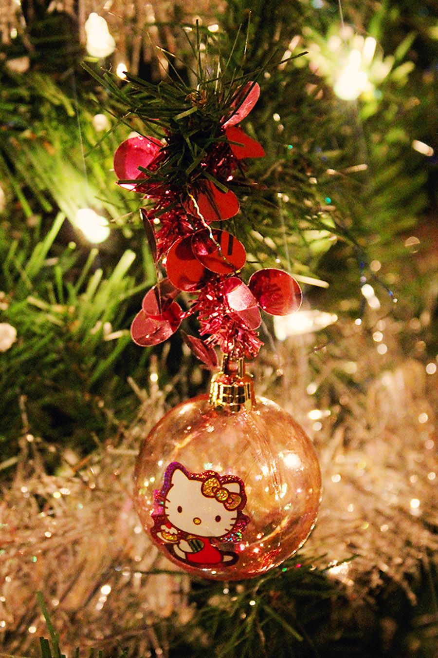 Hello Kitty Christmas Ornament! DIY, All you need is