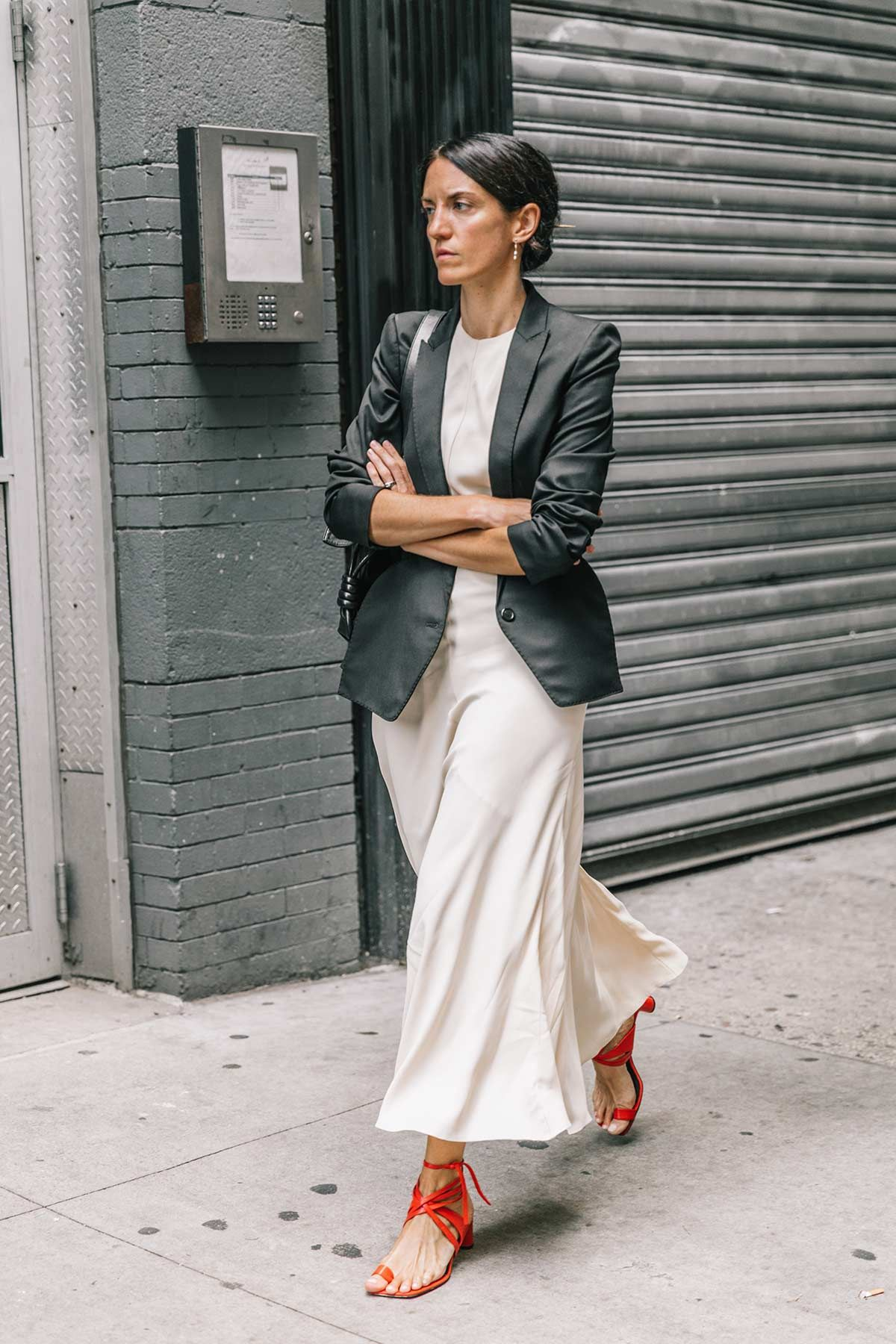 Pin by kanica jain on style pinterest black blazers white dress