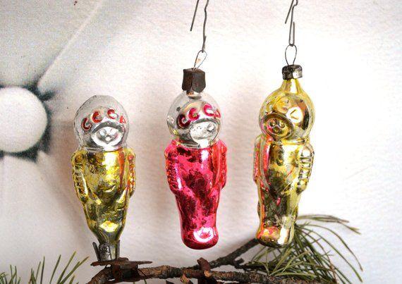 Astronaut Figurine Christmas Ornament
