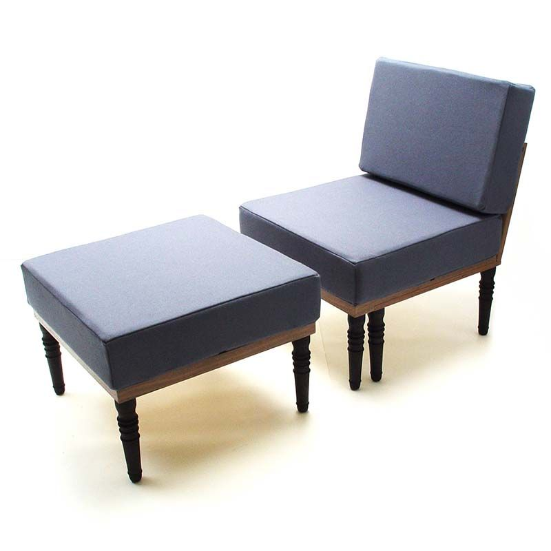 Sofa Bed And Chair With Foot Stool, Bed, Bench, Table   Duffy London