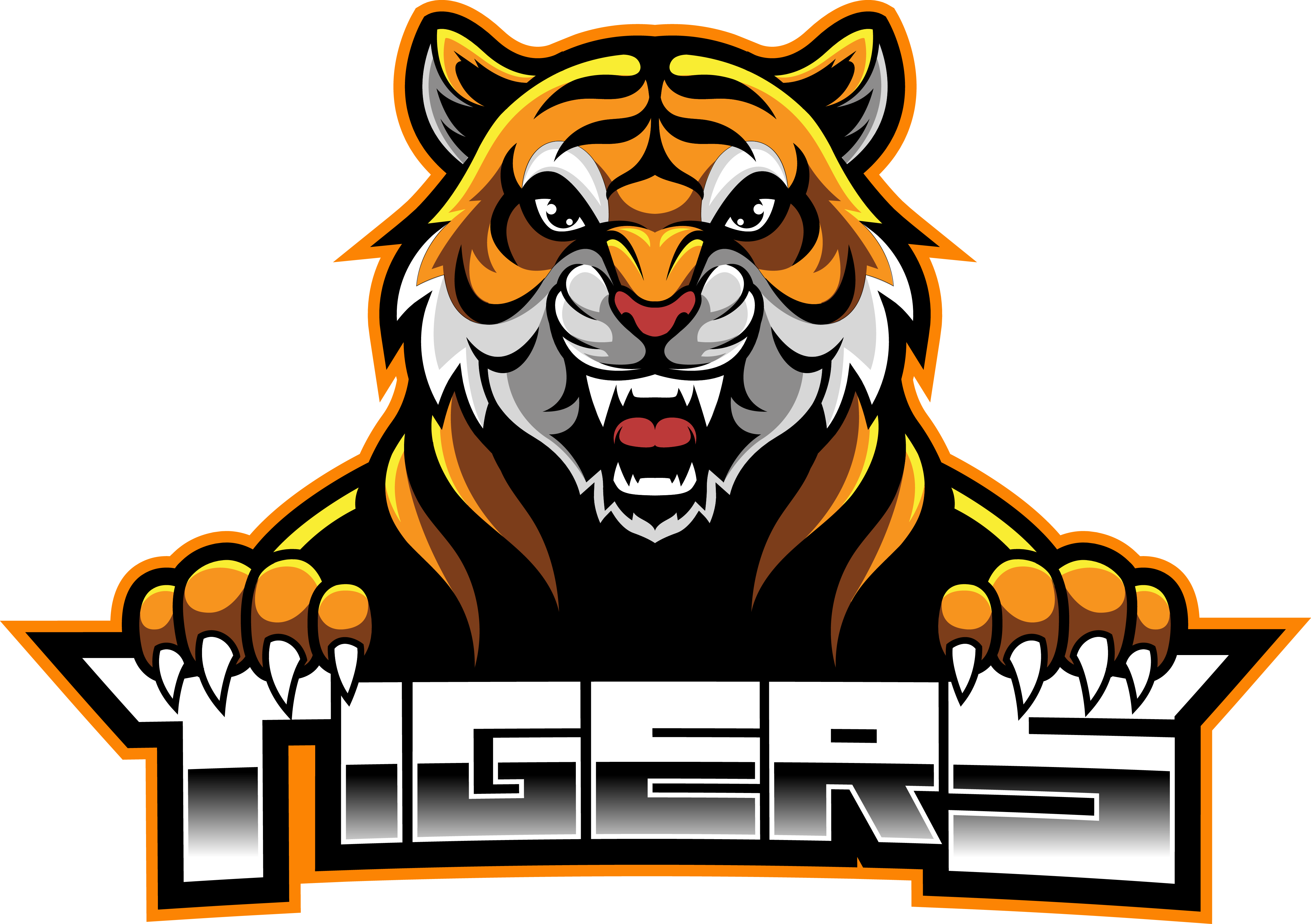 Tiger Face Esport Mascot Logo Design By Visink Thehungryjpeg Com Esport Spon Mascot Tiger Face Adver Tiger Face Mascot Animal Heads