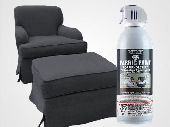 Charcoal Grey Upholstery Fabric Spray Paint Gray Auto Interior is part of Fabric spray - Charcoal Grey Upholstery Fabric Spray Paint  Soft, Safe, and Permanent