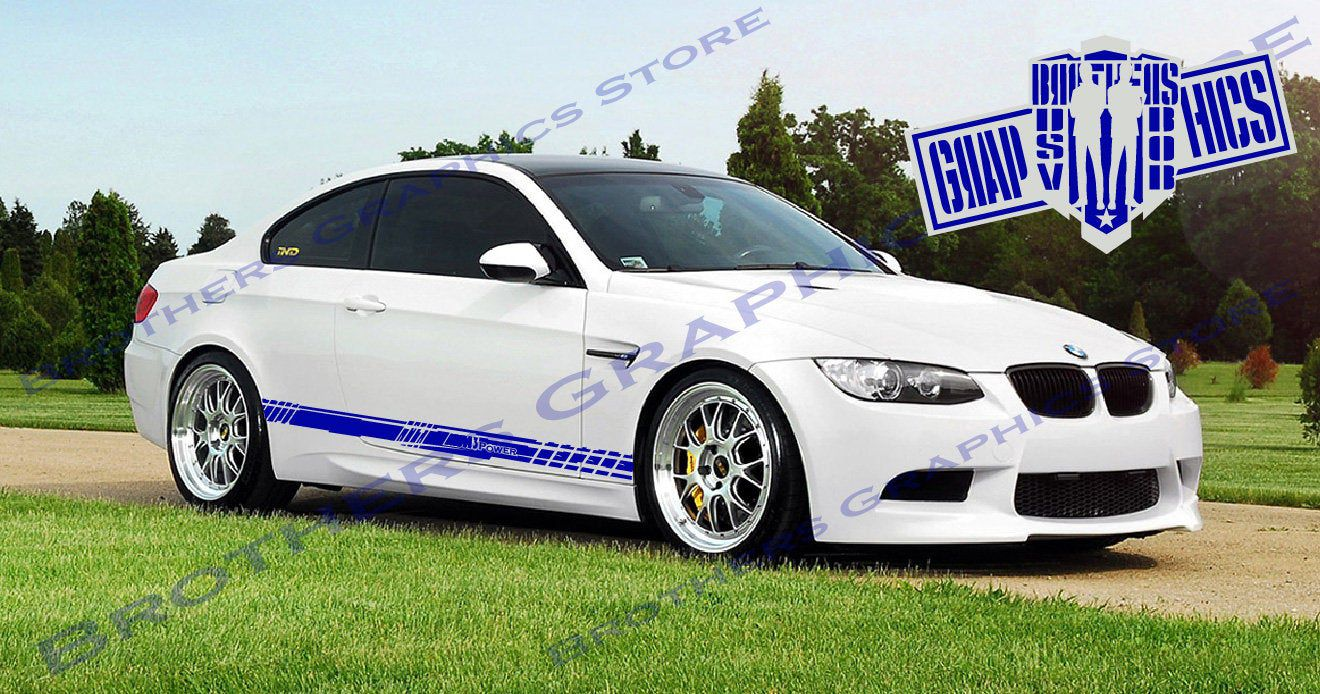 Vinyl Decal Custom Stickers Graphic Kit Compatible With Bmw M3 3 Series Brothersgraphics