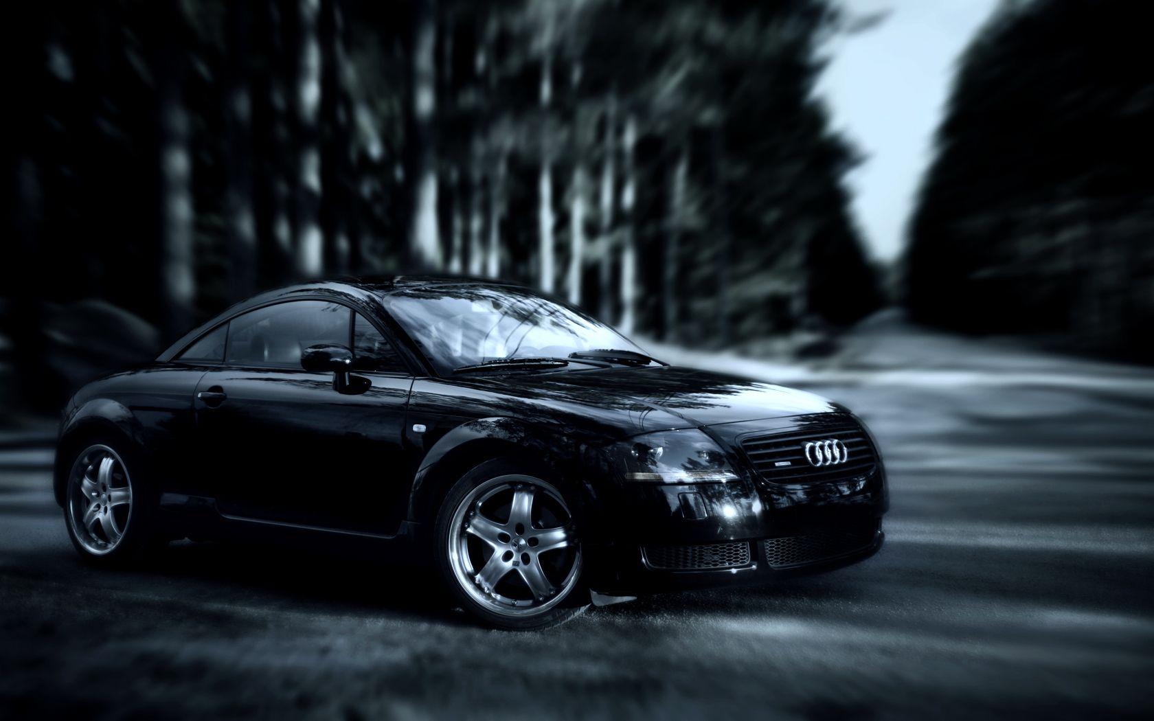 Black Audi Backgrounds   Audi tt, Black audi, Car photos