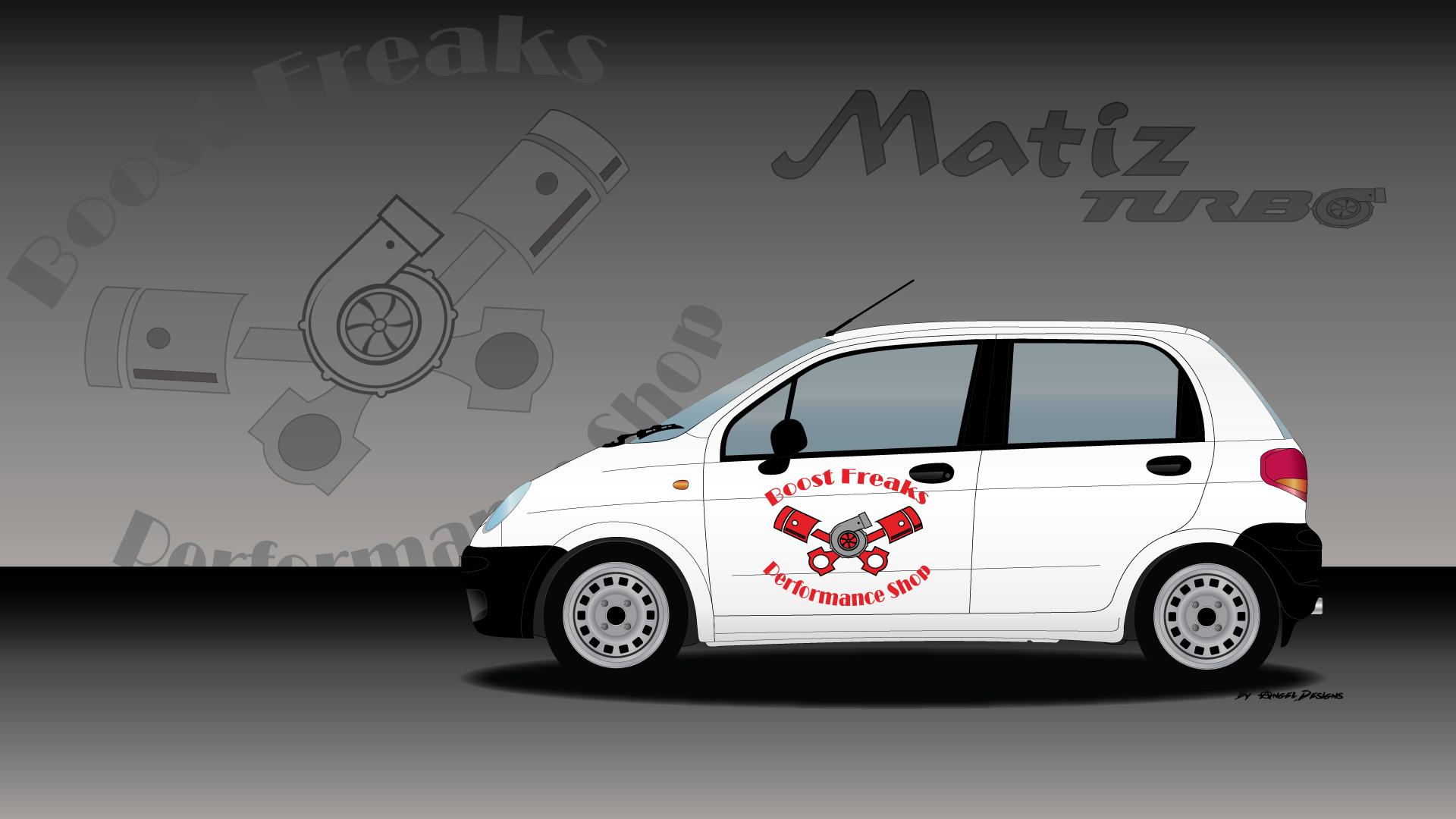 Daewoo Matiz Turbo - Boost Freaks | My Car Designs | Pinterest