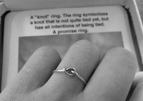 100 Tumblr Knot Ring Promise Promise Rings Rings