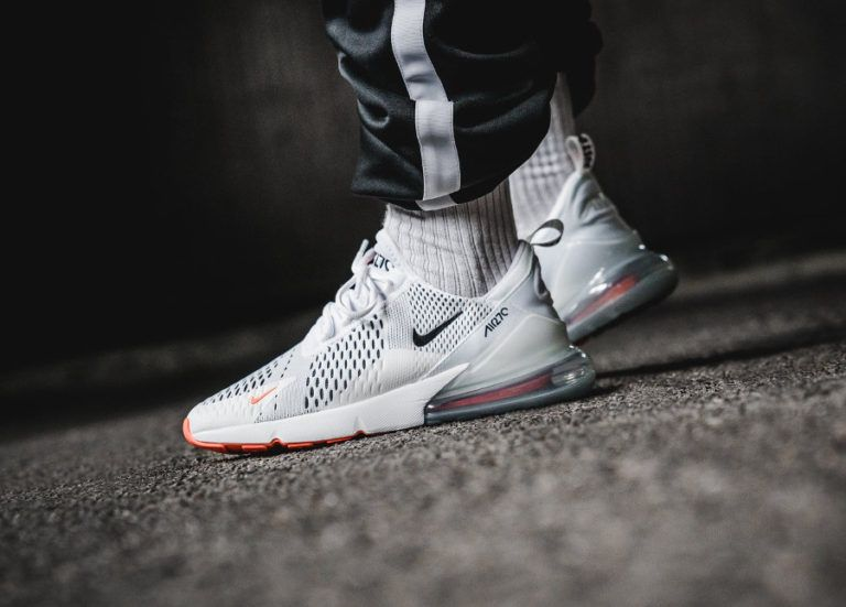 c7c67156574 Nike Air Max 270 Pull Tab  Just Do It  White   Black