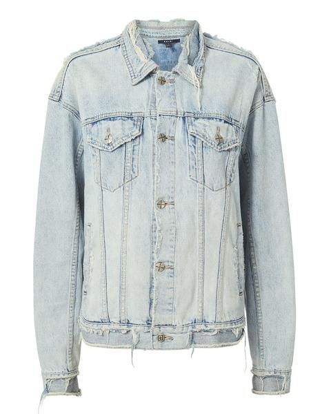 Ghosted Distressed Denim Jacket Ksubi X Travis Scott Men e6112ed11