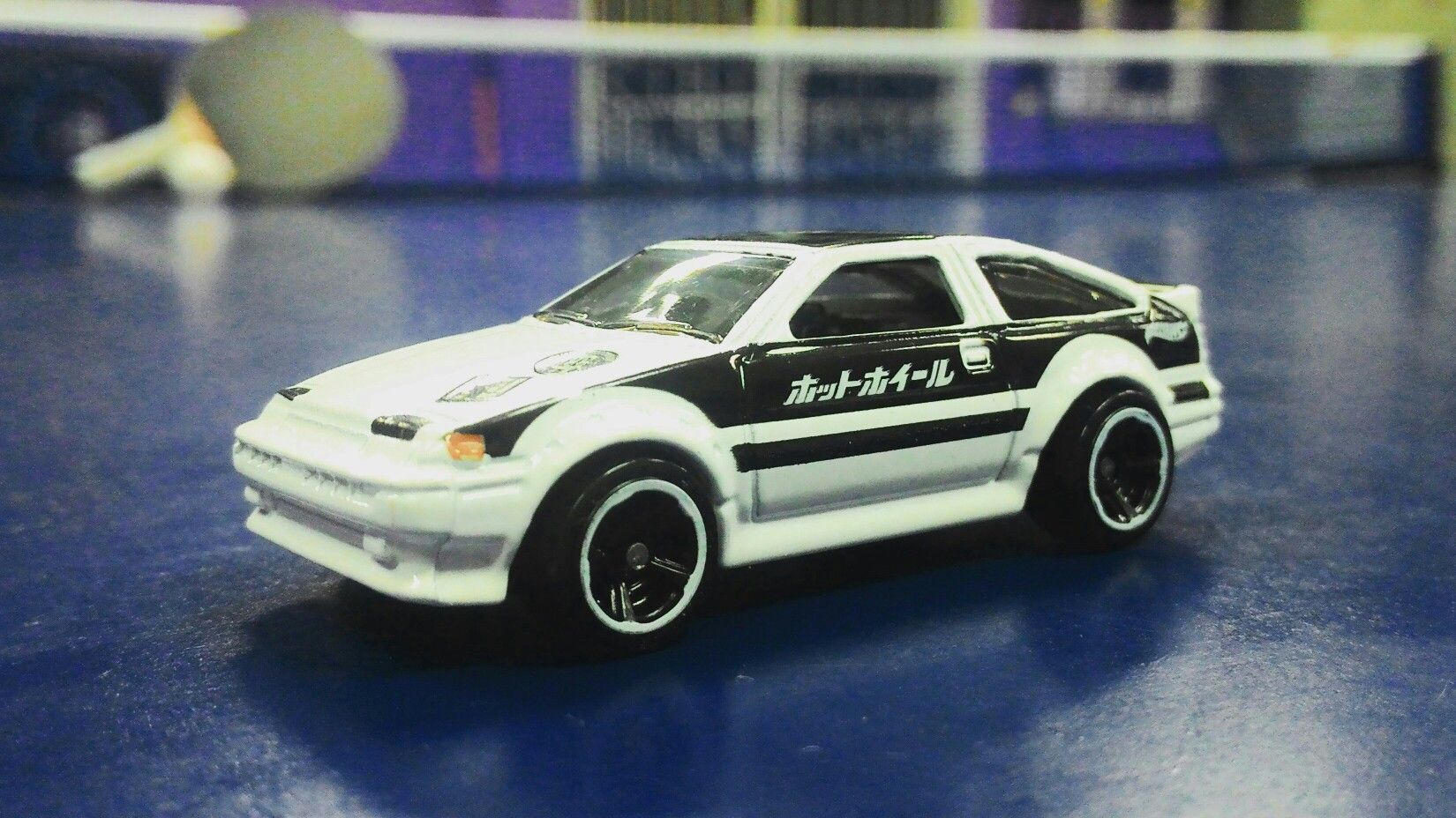 Toyota Ae 86 Corolla Initial D My Hot Wheels Collections Hotwheels Red