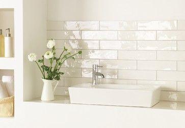 Variatie Op De Metro Tegel Verkrijgbaar Bij Mozaiek Utecht Brick Tiles Bathroom White Wall Tiles White Pearl Tiles