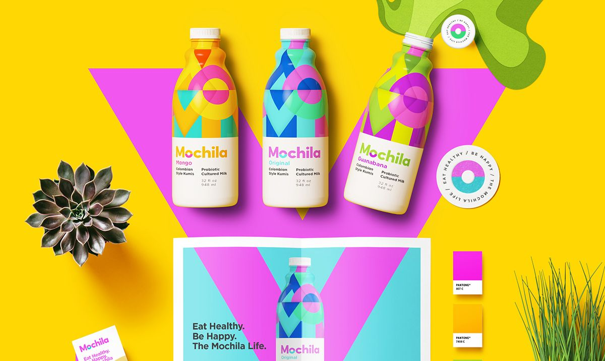 Trendy Package Design: 2018 Design Trends Guide By Milo On Behance