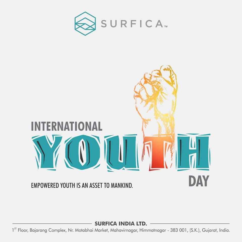 Empowered Youth Is An Asset To Mankind Happy Youth Day Surfica
