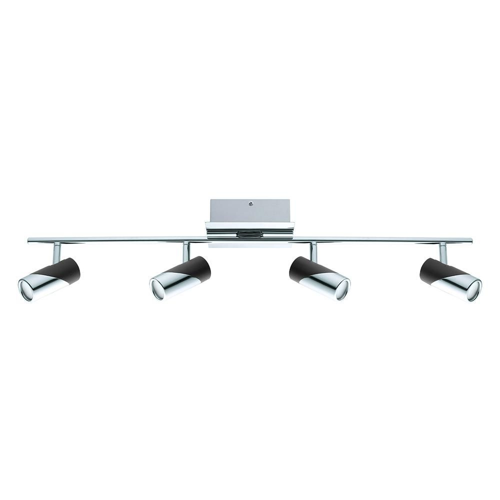 Chrome And Black Integrated Led Track Lighting Kit Kits Products