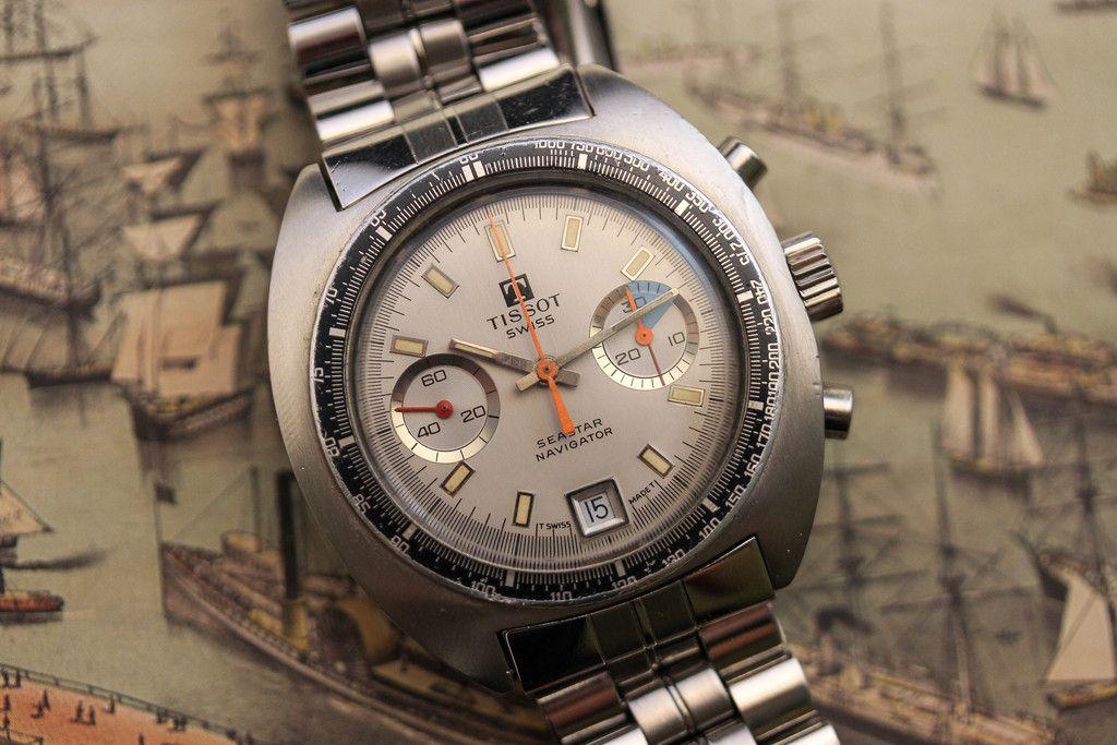 e499b1c52545 Tissot Seastar Navigator Relojes De Época