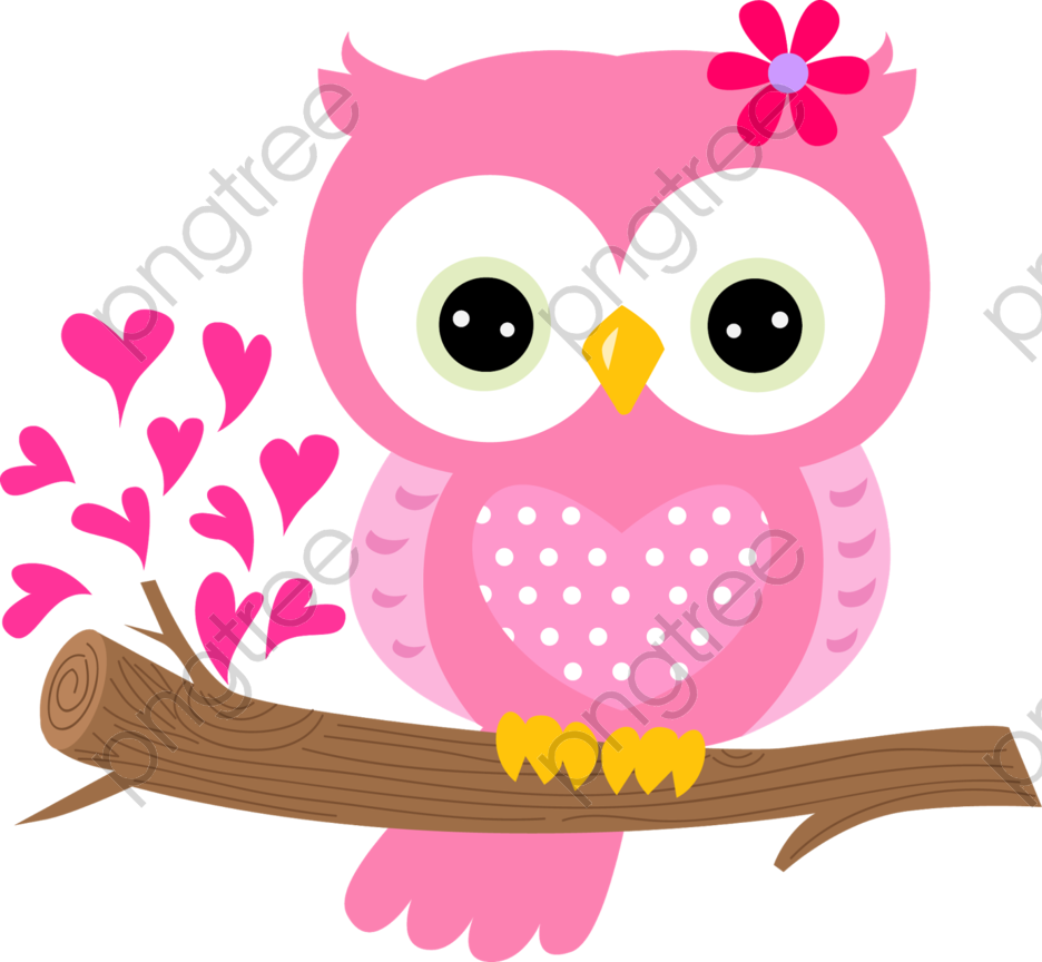 Lovely Pink Owl Png Clipart Owl Clip Art Owl Wallpaper Pink Owl