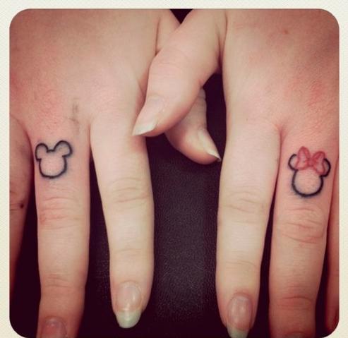 Mickey Mouse Tatuajes Tattoos Matching Tattoos Y Disney Tattoos